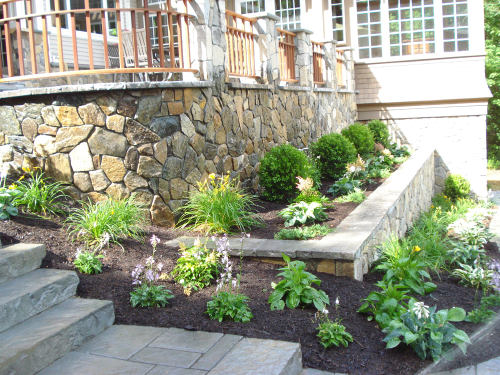 Residential landscape design simple by nature landscape for Residential garden design